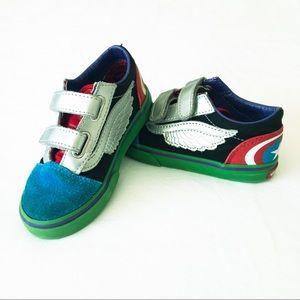 Vans | Old Skool Marvel Velcro | Toddler | Sz 9